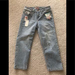 Paris Blues Youth Size 7 Girls  Denim Jeans
